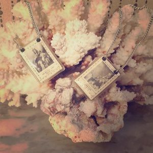 Jewelry - Vintage Saint Prayer Necklace